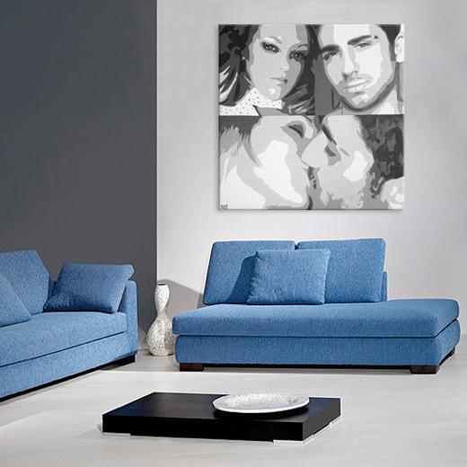 00-azzumail-foto-ritratto-quadro-pop-art-coppia-dipinto-a-mano-idea-regalo-perfetta-economico-grande-figurone-festa-swarowski-brillanti-pietre-perle-fidanzati-bacio-esempio