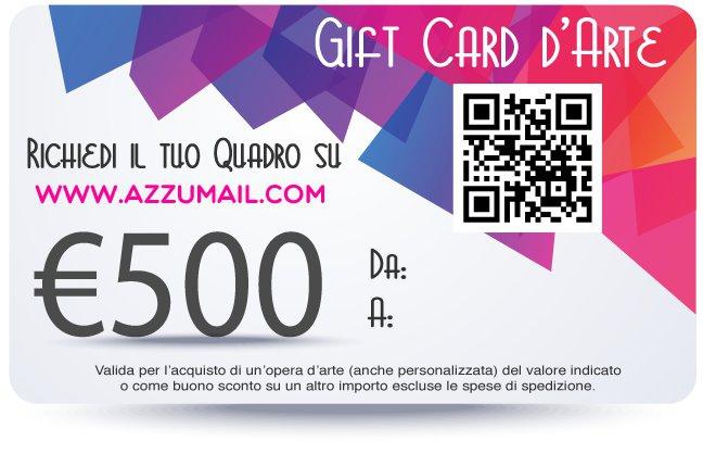 500-euro-carta-regalo-gift-card-azzumail-idea-natale-2015-personalizzato-originale
