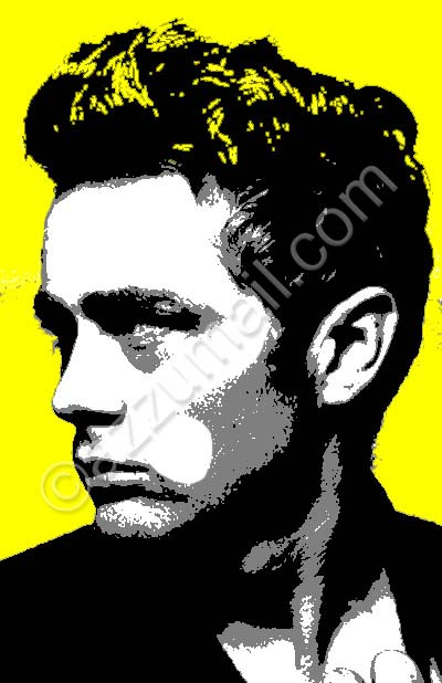 hollywood-james-dean-death-mito-idolo-baudelaire-bello-sexy-dannato-macchina-car-uomo-portrait-ritratto-dal-vero-trittico-yellow-pop-art-popart-quadro-moderno-dipinto-a-mano-arredamento-contemporaneo-cool-trendy-tela-nuova-idea-regalo-originale-vip