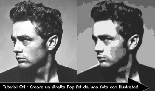 -james-dean-gioventu-bruciata-giovane-sexy-dipinto-quadro-pop-art-tutorial-trasformare-illustrator-popart-tutorial-guide-manuale