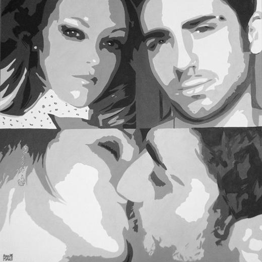 00-azzumail-foto-ritratto-quadro-pop-art-coppia-dipinto-a-mano-idea-regalo-perfetta-economico-grande-figurone-festa-swarowski-brillanti-pietre-perle-fidanzati-bacio