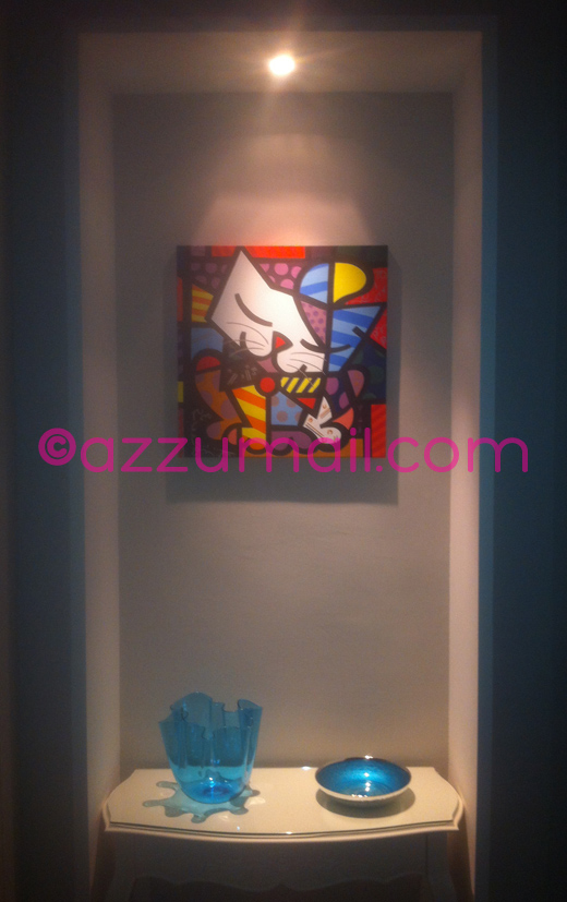 01-compro-vendo-cerco-offro-quadro-dipinto-a-mano-pop-art-romero-britto-gatto-quadri-arredamento-casa-idea-regalo-originale-copia-falso-d-autore-popart-arte-moderna-art-galleria-museo-contemporaneo-moderno-colori-su-tela-gallery-azzumail