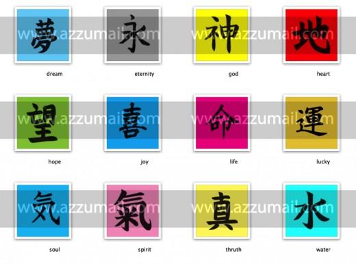 kanji-pop-art-quadri-dipinti-a-mano-su-tela-acrilico-olio-tutti-alfabeto-cinese-giapponese-words-quadri-pop-art-parole-lettere-giappone