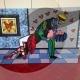 5-quadro-pop-art-popart-romero-britto-dancers-ballerini-moderno-azzumail