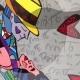 7-quadro-pop-art-popart-romero-britto-dancers-ballerini-moderno-azzumail