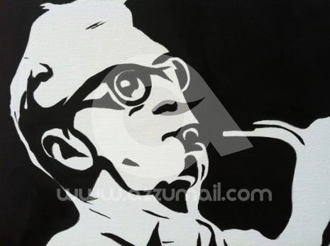 Ritratto padre e figlio pop art for Cerco quadri moderni