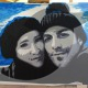 50-ritratti-foto-popart-pop-art-dipinto-a-mano-idea-regalo-quadro-coppia-fidanzamento-testimoni-nozze-sposi-matrimonio-bacio-azzumail