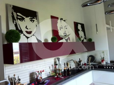 Lupin iii quattro quadri pop art a colori 50x70cm for Cerco quadri moderni