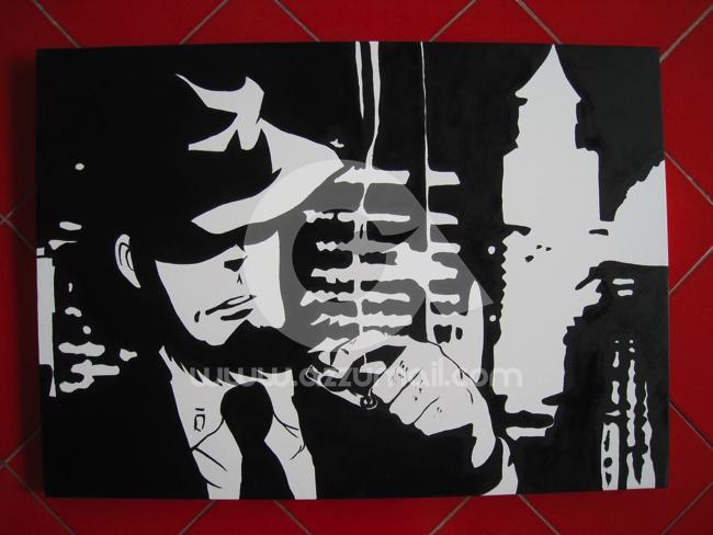 Lupin iii dipinti pop art giganti for Cerco quadri moderni