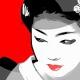 1-quadro-moderno-arredamento-orientale-geisha-maiko-arte-contemporanea-pop-art-buono-sconto-azzumail-giappone-japan-art-dipinto-a-mano