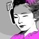 13-quadro-moderno-arredamento-orientale-geisha-maiko-arte-contemporanea-pop-art-buono-sconto-azzumail-giappone-japan-art-dipinto-a-mano