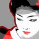 2-quadro-moderno-arredamento-orientale-geisha-maiko-arte-contemporanea-pop-art-buono-sconto-azzumail-giappone-japan-art-dipinto-a-mano