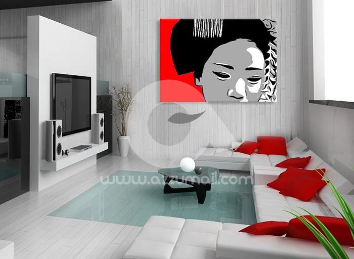 Quadri dipinti a mano Pop Art Giappone e Oriente: Geisha & Maiko
