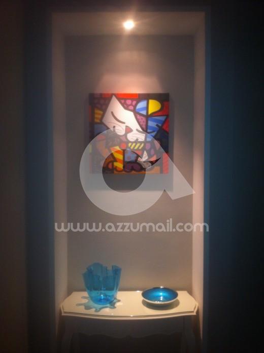 0-quadro-dipinto-a-mano-pop-art-romero-britto-gatto-quadri-arredamento-casa-idea-regalo-originale-copia-falso-d-autore-popart-arte-moderna-art-galleria-museo-contemporaneo-moderno