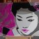 01-dipinto-a-mano-moderno-quadro-ritratto-geisha-personalizzato-malva-e-argento-giappone-japan-oriente-kanjii-idea-regalo-per-arredamento