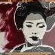 03-quadro-geisha-dipinto-a-mano-moderno-oriente-giappone-maiko-pop-art-popart-idea-arredo-regalo-rosso-japan