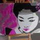 04-dipinto-a-mano-moderno-quadro-ritratto-geisha-personalizzato-malva-e-argento-giappone-japan-oriente-kanjii-idea-regalo-per-arredamento