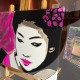 06-dipinto-a-mano-moderno-quadro-ritratto-geisha-personalizzato-malva-e-argento-giappone-japan-oriente-kanjii-idea-regalo-per-arredamento