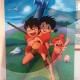 08-quadro-cartoni-animati-fumetti-conan-il-ragazzo-del-futuro-coppia-idea-arredo-azzumail
