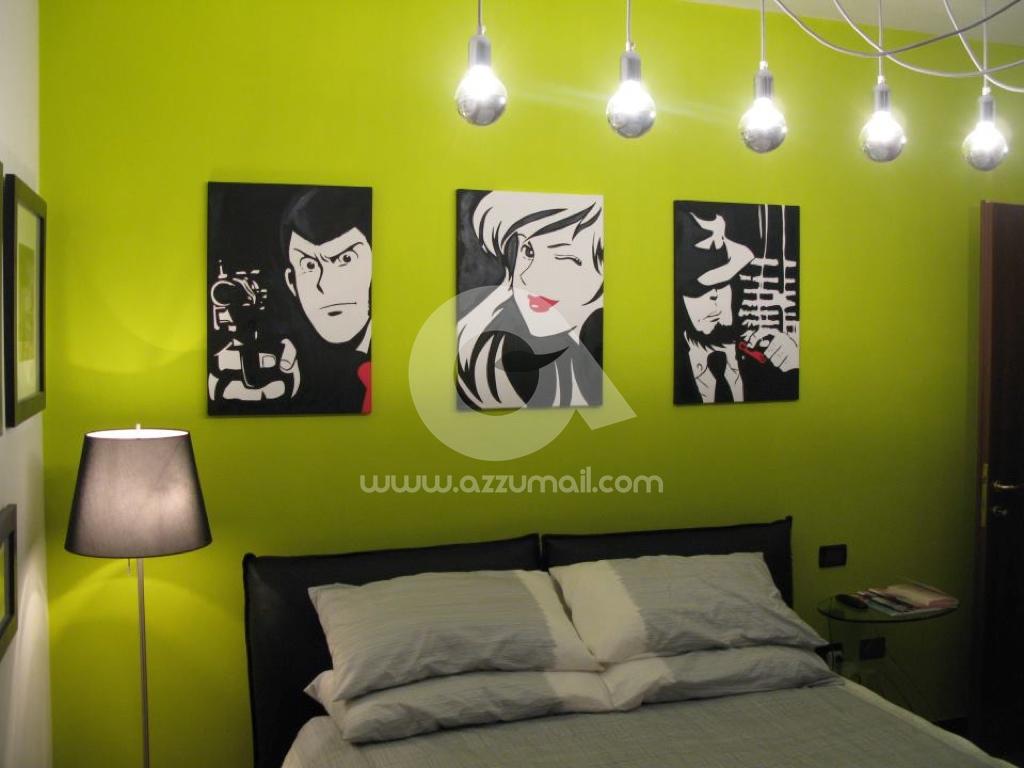 Foto galleria di quadri moderni stile pop art dipinti a - Quadri arredamento casa ...