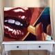 4-quadro-moderno-arredamento-idea-arredo-bar-sexy-lips-labbra-rosse-pulp-fiction-sigaretta-unghie-donna-ritratto-pop-art-opera-arte-azzumail-azzurra