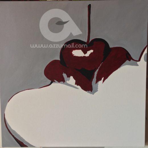 04-quadri-moderni-per-arredamento-idea-regalo-sexy-simboli-sesso-donna-occhi-labbra-rosse-ciliegia-sensuale-zebrato-dipinti-a-mano-arte-azzumail-pop-art