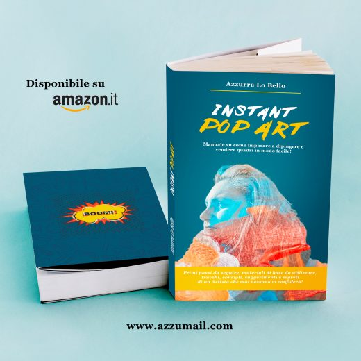 libro per dipingere subito e facile Instant Pop Art acquistalo su Amazon