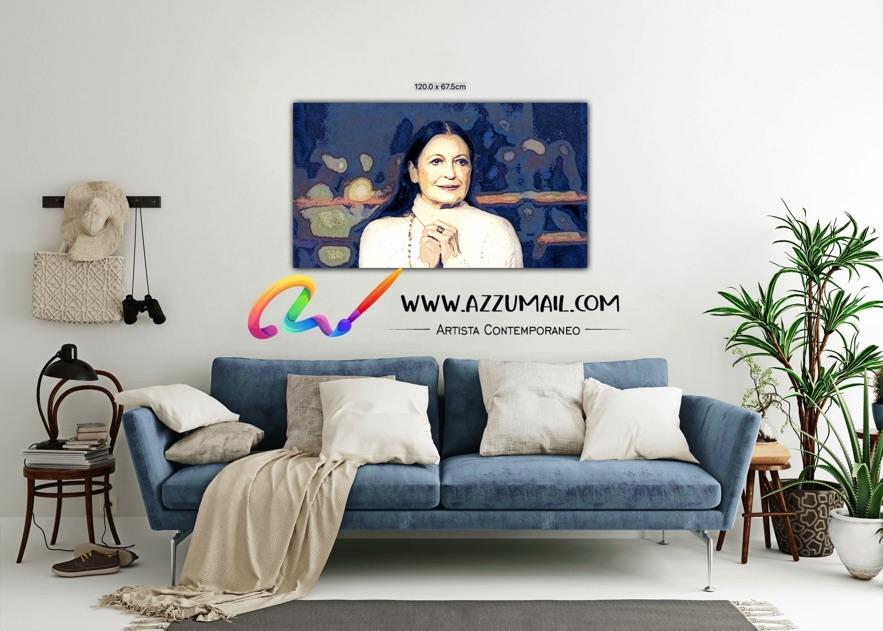 Carla Fracci ritratto pop art moderno quadro personalizzato dipinto a mano idea regalo living arredo arredamento italiano elegante ballerina scala Milano